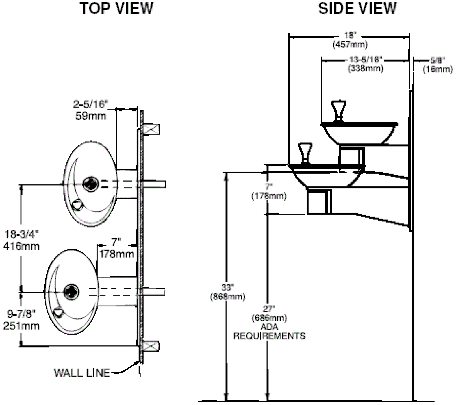 Ada Drinking Fountain Requirements Halsey Taylor Wiring Diagram Of Ovlserq Architectural Water 1600x1421