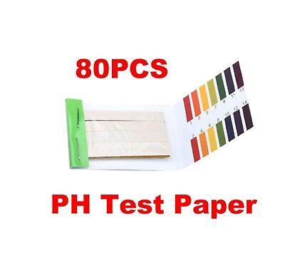 80 Strips PH Test Strip Alkaline Acid 1-14 Full Test Paper Litmus Urine Test 4