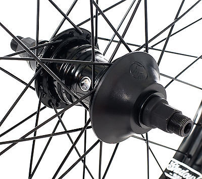"SHADOW CONSPIRACY OPTIMIZED FREECOASTER REAR 20/"" WHEEL LHD 9T BMX BIKE SILVER"