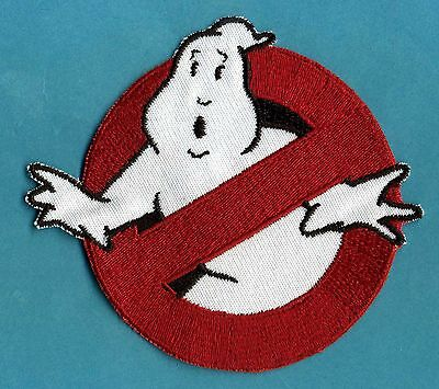 ADULT size Ghostbusters No Ghost 1  & Custom Name Tag Patch Set [iron on style] 2