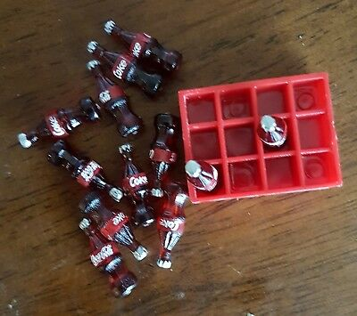 Add to Coles Little Shop 2 Mini Collectables -Coke bottles & crate 4