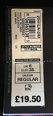 Marks and Spencer Collection Sculpt & Lift Leggings BNWT Sz 8 BNWT RRP £19.50 4