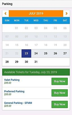 Six Flags Great America Chicago Illinois Day Parking Pass 2019 3