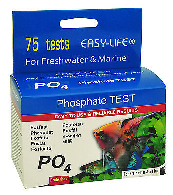 Easy Life Phosphate (PO4) 75 test liquid test kit 2