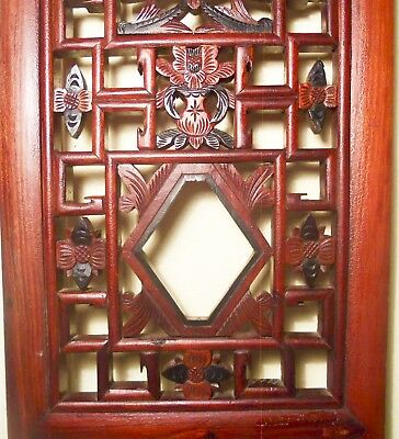 Antique Chinese Screen Panels (2760)(Pair), Cunninghamia Wood, Circa 1800-1849 4