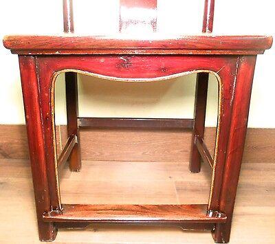 Antique Chinese High Back Chairs (5614) (Pair), Circa 1800-1849 4