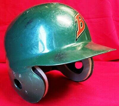 BUFFALO BISONS (Cleveland Indians) 1980's-1990's Game Used Batting Helmet by ABC 7
