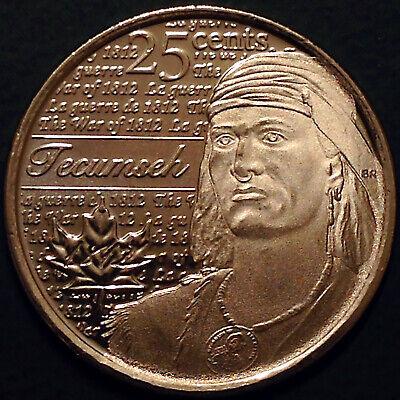 Canada 2012 / 2013 War of 1812 8 Commemorative 25 Cent Quarter Coin Set, UNC 3