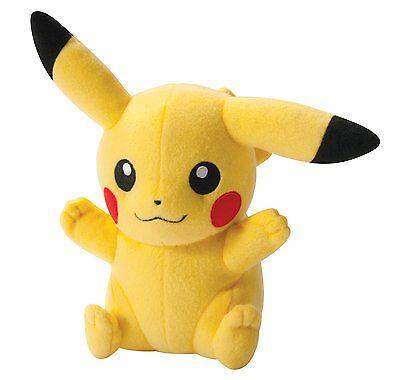 Detective Pikachu 4PCS Pokemon Bulbasaur Squirtle Charmander Stuffed Plush Toy 2