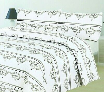 Luxury 100% Egyptian Cotton Printed Duvet Cover Sets Bedding Sets All Sizes 5