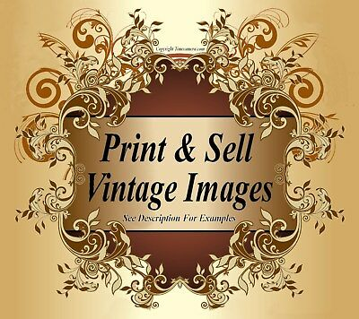 VINTAGE RISQUE IMAGES COLLECTION - Professional High-Res Photo Printmaking 2