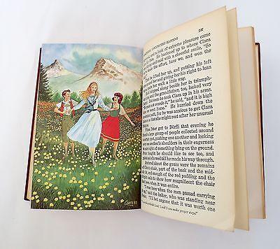 Heidi By Johanna Spyri Vintage 1961  Illustrated Book The Childrens Classics 5