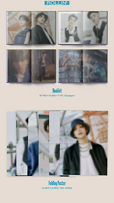 NCT DREAM RELOAD 4th Mini Album CD+POSTER+Book+F.Poster(On)+2Card+GIFT 9