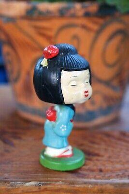 Nodders Novelty Coin Bank 1950/'s-60/'s Vintage Kissing Bobbleheads Asian Bobbleheads Magnetic Kissing Bobbleheads Let/'s Kiss