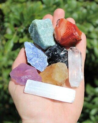 20 pcs Beginners Crystal Kit - Chakra Protection Healing Sets - Crystal Gift 4