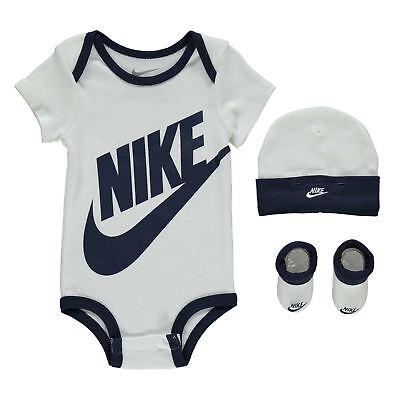 6-9 New Nike Futura Fill Set Babies Boys Girls Vest /& Hat 0-3 9-12 Months 3-6