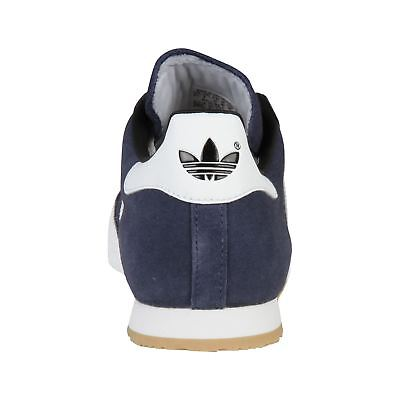 a21b2ccac99333 ... New 2018 Adidas Original Mens Samba Suede Shoes Trainers Navy White  Sizes 4-14