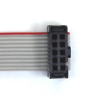 20pcs 2x10p 2x10 20P pitch=2.54mm IDC Cable Plug Connector UL RoHS Taiwan 3