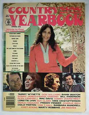 Country Song Roundup Yearbook Magazine 1976 - Lyrics To Over 60 Hits - No Label 2