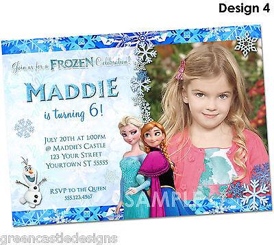 Disney Frozen Invitations Personalized Frozen Party Invitations
