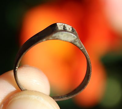 Bronze medieval ring, from Pakistan, size 9 2