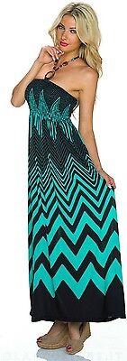 258e8aaf3d57 ... VESTITO abito lungo donna estivo fascia elastica vari colori NUOVO SEXY  8