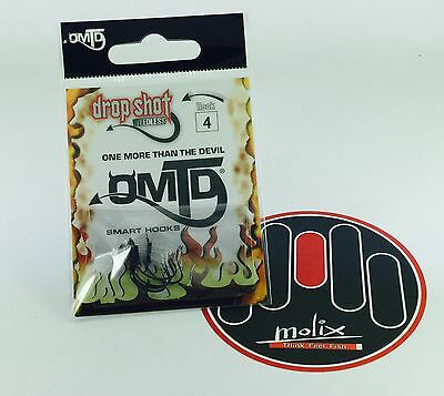 1//0 AMI SINGLE SMART HOOKS OMTD by Molix STRONG SINGLE SW OH2100 SIZE