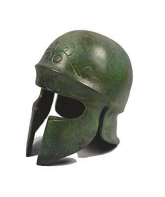 Athenian Bronze mini Helmet - Museum replica - Ancient Greece - Handmade 3
