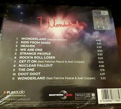 Rockets - Wonderland - Raro Cd Sigillato (Sealed) Digipak 2