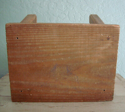 Small Wood FARMHOUSE MILKING STOOL- VTG Primitive Small Bench, Childs Furniture 4