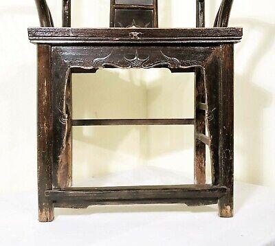 Antique Chinese High Back Arm Chairs (5755) (Pair), Circa 1800-1849 7