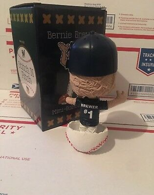 2018 Bernie Brewer Stitch N Pitch Milwaukee Brewers Bobblehead Theme Night 2