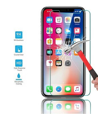 3D Full Coverage Tempered Glass Screen Protector Cover For iPhone 6 6S 7 + Plus 10