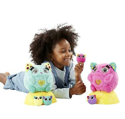 Nestlings Interactive Pet & Babies With Lights & Sounds Pink 3