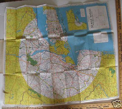 Mile Radius Map on