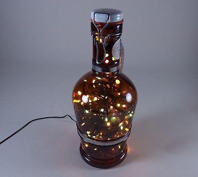 Flaschen Lampe Ratskeller Pils Krug rustikal Tischlampe mit 120 LED´s ww+MC 6