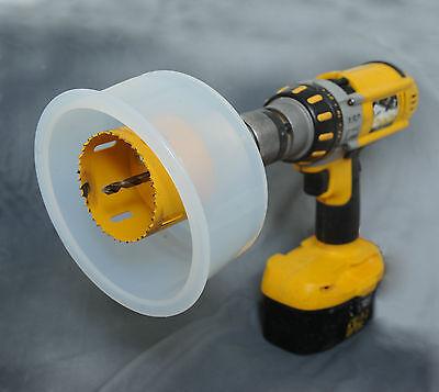 D.A.D.E - Holesaw Dust & Debris Catcher Eliminator for Drilling Vertically DADE 5