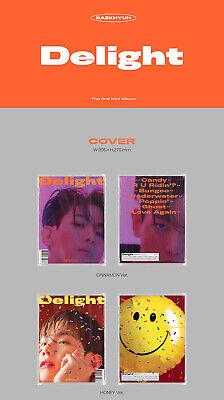BAEKHYUN DELIGHT Album 3CD+POSTER+3 Photo Book+9 Card+3 F.Poster+3 Sticker+GIFT 6