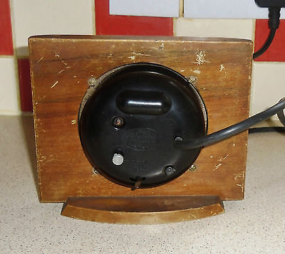 Smiths Sectric Mantel Clock. 1953/55. 4