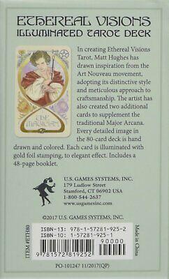 Ethereal Visions An Illuminated Tarot Deck by Matt Hughes 80 Cards 6