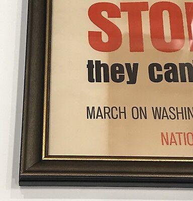 "Original Vintage 1971 ""STOP THEM!"" Vietnam Anti War Nixon Propaganda Poster Art 6"