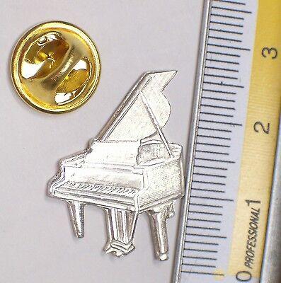 SPILLA da giacca (PINS) con PIANOFORTE in Argento 925 - musica - 4