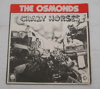 """Israel Rare Ep Donny Osmond The Osmonds 7"""" 4 Songs Israeli"""