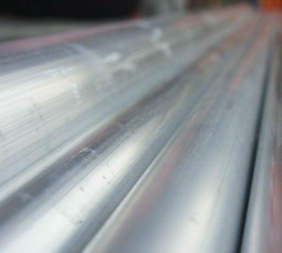 ID 7mm 2 Pcs 6061 T6 Aluminum Seamless Tubing OD 10mm Length 0.5m 1.64 ft