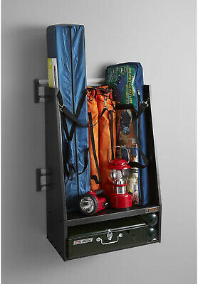 Golf Garage Wall Storage Kit Steel With 2 Bag Caddy Sports Rack Gladiator 32 In 135 84 Picclick Uk
