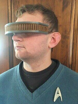 Star Trek Next Generation TNG Geordi La Forge Visor Costume Prop Cos Play 2