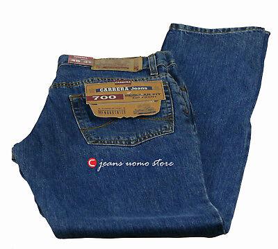 Pantalone 5 tasche cotone denim Carrera 700 jeans uomo Regular Fit Straight Legs 5