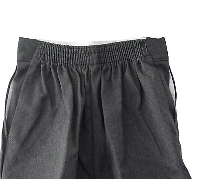 Boys school/formal- SLIM LEG trouser *ELASTICATED BACK* QUALITY-5-8yrs-*NEW* 2