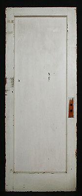 "30""x75"" Antique Vintage Interior SOLID Wood Wooden Door Single Recessed Panel"