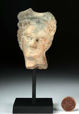 Greek Hellenistic Pottery Head of a Woman Lot 26C
